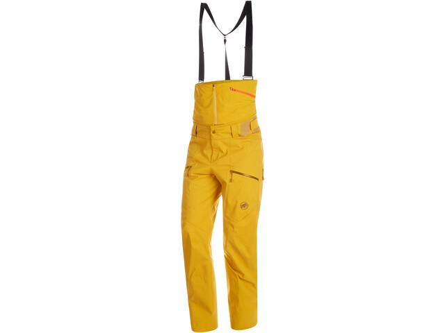 Mammut Haldigrat HS Pantaloni Uomo, giallo